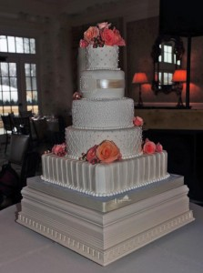 Square and round tiers   Take the Cake