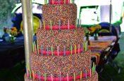100 candle Birthday Cake